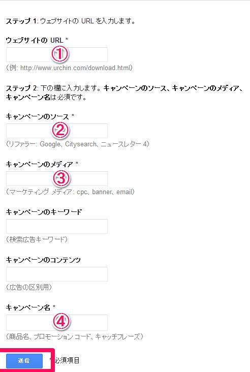 URL 生成ツール