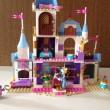 レゴ ディズニープリンセス シンデレラの城 41055 完成裏