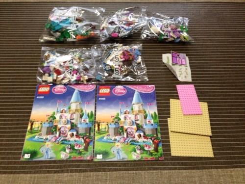 レゴ ディズニープリンセス シンデレラの城 41055商品開封