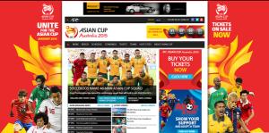 アジアカップ2015公式サイト