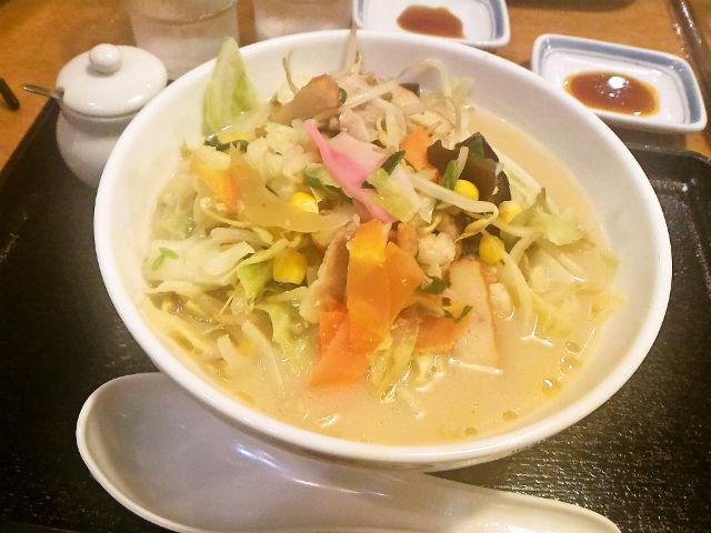 長崎ちゃんぽんの野菜たっぷり食べるスープ