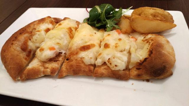 高倉町珈琲 ナンチーズトースト