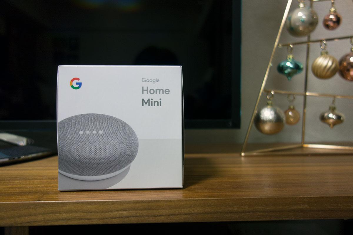 Google home mini が我が家へやってきた!AIスピーカーが3,000円って安すぎだろ