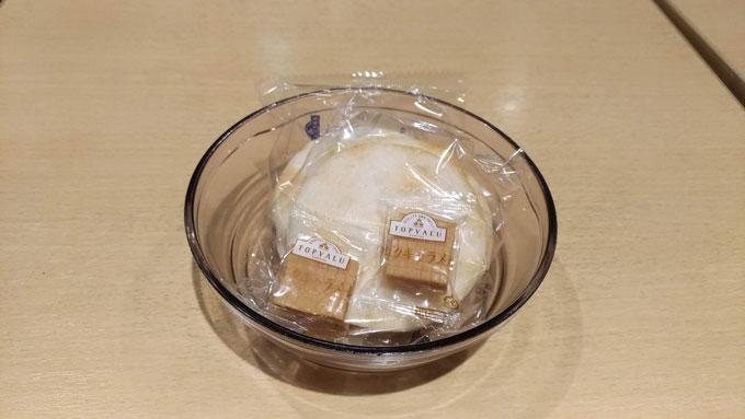 イオンモール日の出のラウンジのお菓子