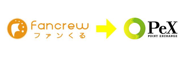 ファンくるからPexへのポイント交換方法を解説。リアルタイム交換、手数料無料がうれしい!