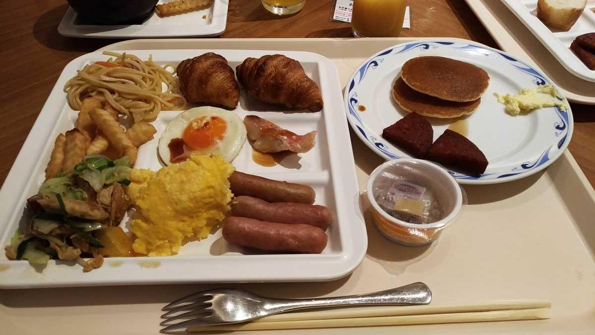 ホテルマハイナの朝食